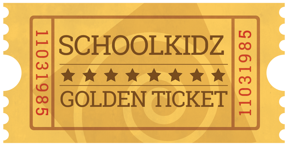 SchoolKidz Golden Ticket