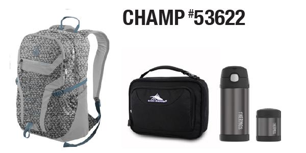 Granite Gear CHAMP Bundle Deal # 53622